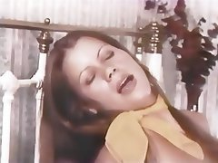 Blowjob, Brunette, Facial, Handjob, Vintage