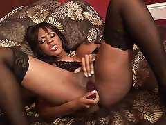 Interracial, MILF, Blowjob, Brunette, Facial