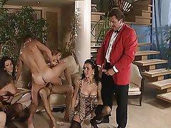 Bukkake, Cumshot, Double Penetration, Group Sex, Hardcore