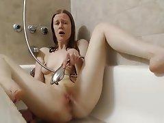 Amateur, Orgasm, Shower, Voyeur