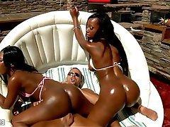 Amateur, Interracial, Skinny, African