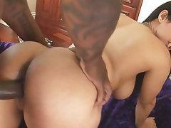 Interracial, Big Ass, Big Cock, Latina