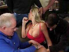 Anal, Blowjob, Double Penetration, Facial, Threesome