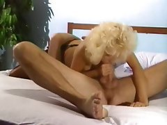 Blonde, Blowjob, Face Sitting, Vintage