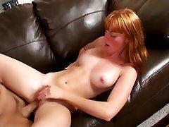 Babe, Cumshot, Hardcore, Redhead