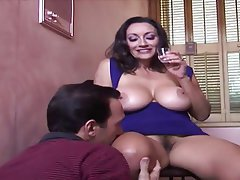 Big Boobs, Big Butts, Blowjob, Brunette, Hairy