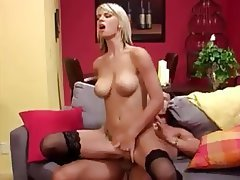 Blonde, Stockings, Hardcore