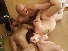 Double Penetration, Hairy, Hardcore, Threesome