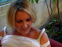 Blowjob, Mature, Big Boobs, Blonde, Hairy