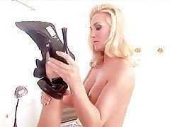 Ass Licking, Blonde, Brunette, Lingerie
