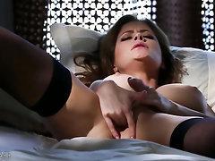Babe, Big Tits, Ebony, Stockings, Teen