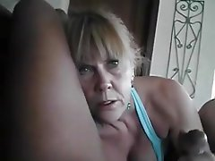 Amateur, Blowjob, French, Granny