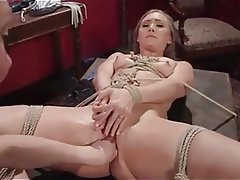 BDSM, Blonde, Bondage, Hardcore, Strapon