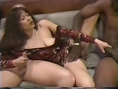 Anal, Blowjob, Double Penetration, Threesome, Interracial